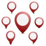 Pin Map Marker Stock Photos
