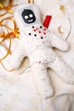 Pin and needle doll Stock Image