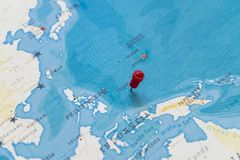 A Pin On Palau Philippines In The World Map Stock Photo Image Of
