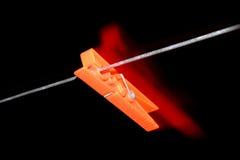 Pin rosso Immagini Stock Libere da Diritti