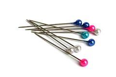 Pin set Royalty Free Stock Image