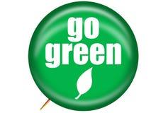 pin się zielone Zdjęcie Stock