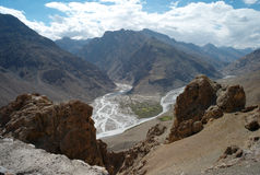 Pin and Spiti valley Stock Images