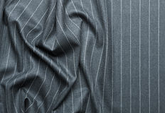 Pin striped suit with creases Royalty Free Stock Photography
