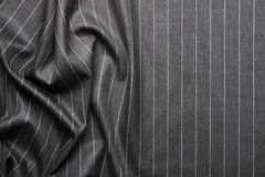 Pin striped suit texture Royalty Free Stock Photography