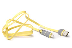 8 Pin to USB Cable Royalty Free Stock Photography