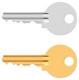 Pin tumbler lock key Stock Photo