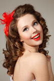Pin-up Immagine Stock