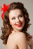 Pin -up Royalty Free Stock Images