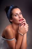Pin Up Royalty Free Stock Images