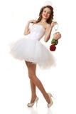 Pin up bride Royalty Free Stock Photos