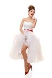 Pin-up bride Royalty Free Stock Image