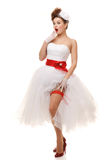 Pin-up bride Royalty Free Stock Photography