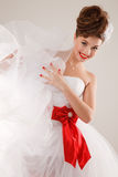 Pin up bride Royalty Free Stock Images