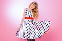 Pin-up dress Stock Photography