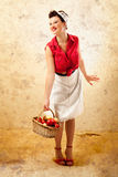 Pin Up Farmer Images stock