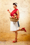 Pin Up Farmer Royalty Free Stock Photo