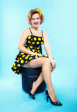 Pin-up girl Royalty Free Stock Photo