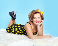 Pin-up-Girl Lizenzfreie Stockfotografie