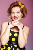 Pin-up girl Royalty Free Stock Photography