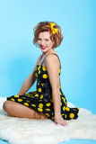 Pin-up girl Stock Photos