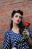 Pin Up Girl Royalty Free Stock Photos