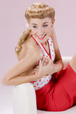 Pin-up-Girl Lizenzfreie Stockbilder
