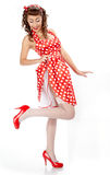 Pin-up girl. Stock Photography