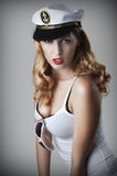 Pin up girl. Stock Images