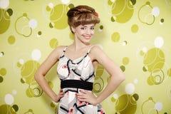Pin-up girl Stock Photography