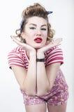 Pin-up-Girl Stockbilder