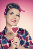 Pin up girl Royalty Free Stock Photography