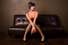 Free Pin-up Girl. Stock Photography - 5025762