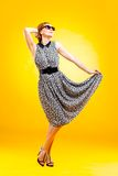 Pin-up girl in american style Stock Photo