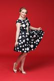 Pin Up Girl atractivo Fotografía de archivo libre de regalías