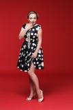 Pin Up Girl atractivo Foto de archivo