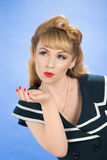 Pin Up Girl Stock Photography