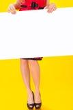 Pin-up-Girl herein im amerikanischen Stil stockfotografie