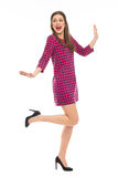 Pin-Up Girl Posing Royalty Free Stock Photography
