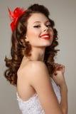 Pin-up girl Stock Photos