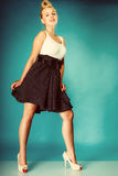 Pin up girl retro style. Royalty Free Stock Photo