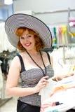 Pin-up girl shopping Royalty Free Stock Photography