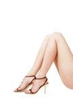 Pin-up legs Stock Photos