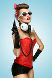 Pin-up party. Stock Photo