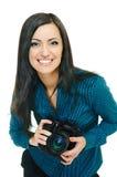 Pin-up photographer Royalty Free Stock Photo
