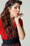 Pin-Up Pretty Girl Royalty Free Stock Image