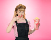Pin Up Style Royalty Free Stock Image