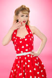 Pin Up Style Royalty Free Stock Photos