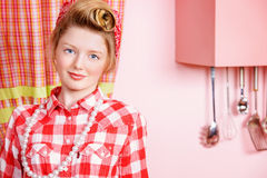 Pin-up teenager Royalty Free Stock Images