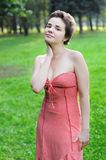 Pin-up woman Royalty Free Stock Photos